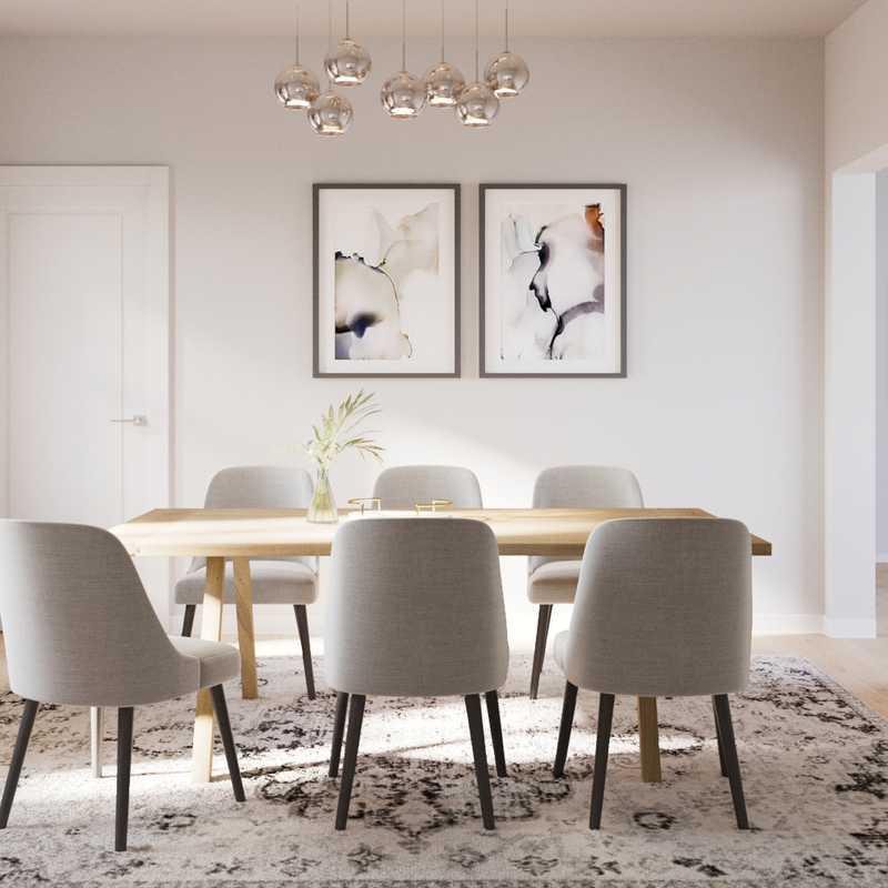 Global Dining Room Design by Havenly Interior Designer Ingrid