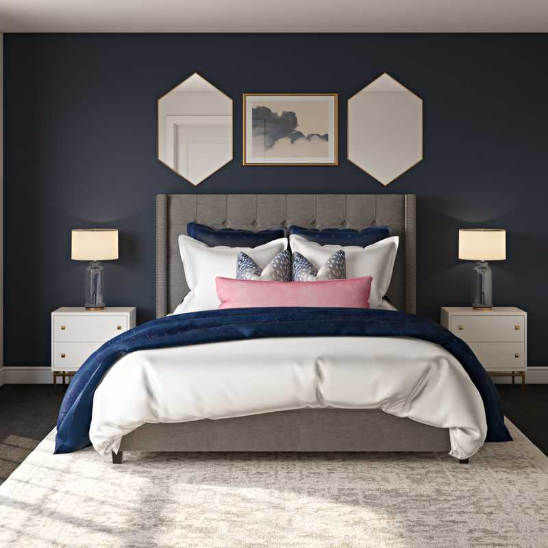 Glam Bedroom Design by Havenly Interior Designer Meredith
