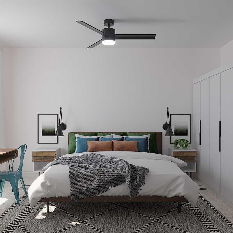Minimal, Scandinavian Bedroom Design by Havenly Interior Designer Savannah