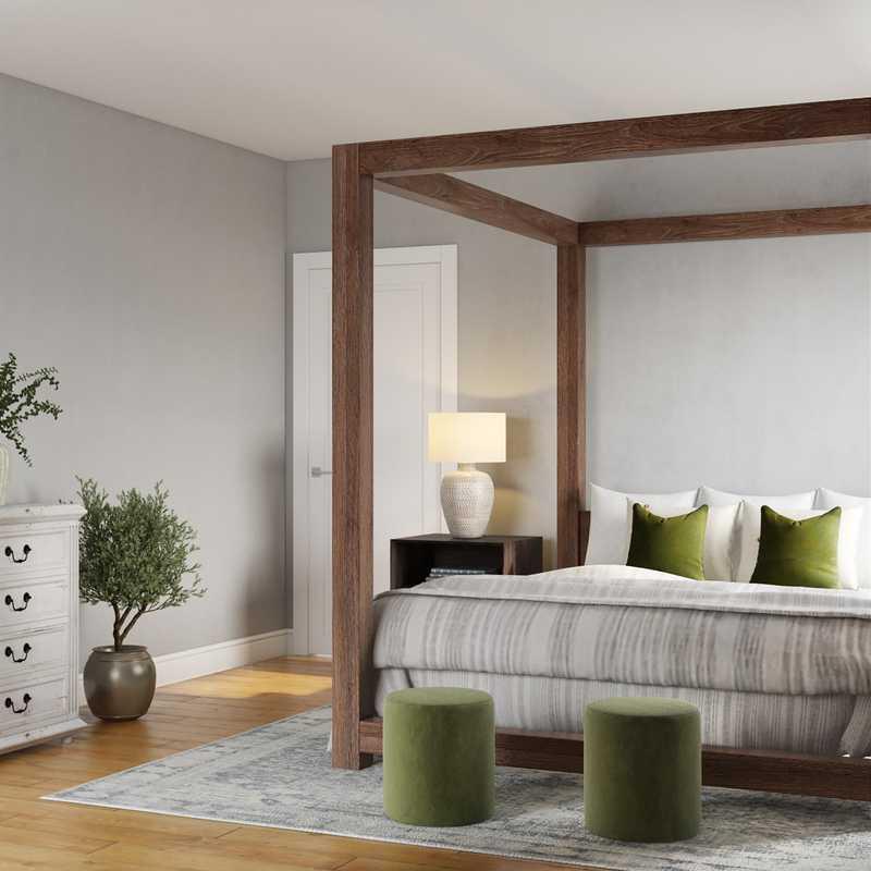 Modern, Scandinavian Bedroom Design by Havenly Interior Designer Sam