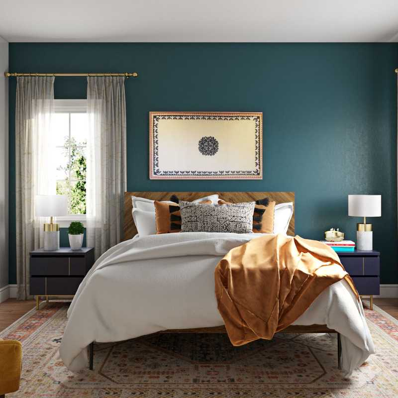Modern, Transitional Bedroom Design by Havenly Interior Designer Shruti