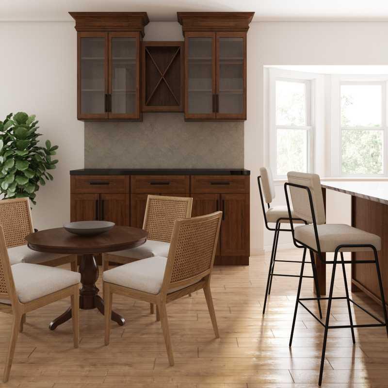 Contemporary, Classic, Eclectic, Coastal, Traditional, Transitional, Classic Contemporary Living Room Design by Havenly Interior Designer Drew