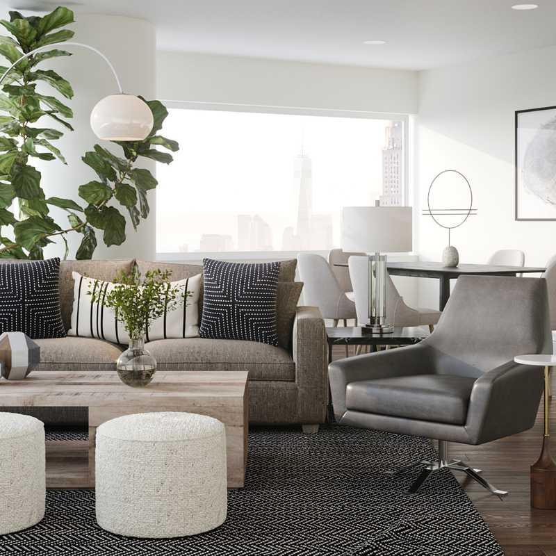 Living Room Design by Havenly Interior Designer Isaac