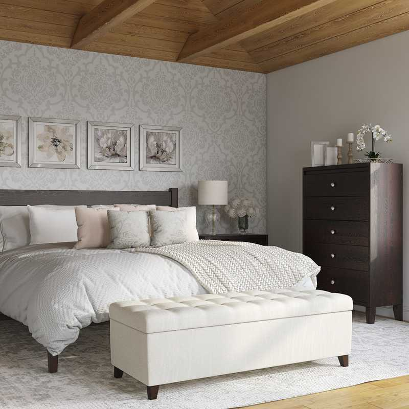 Classic Bedroom Design by Havenly Interior Designer Cathrine