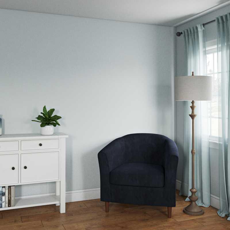 Coastal Bedroom Design by Havenly Interior Designer Cheyenne
