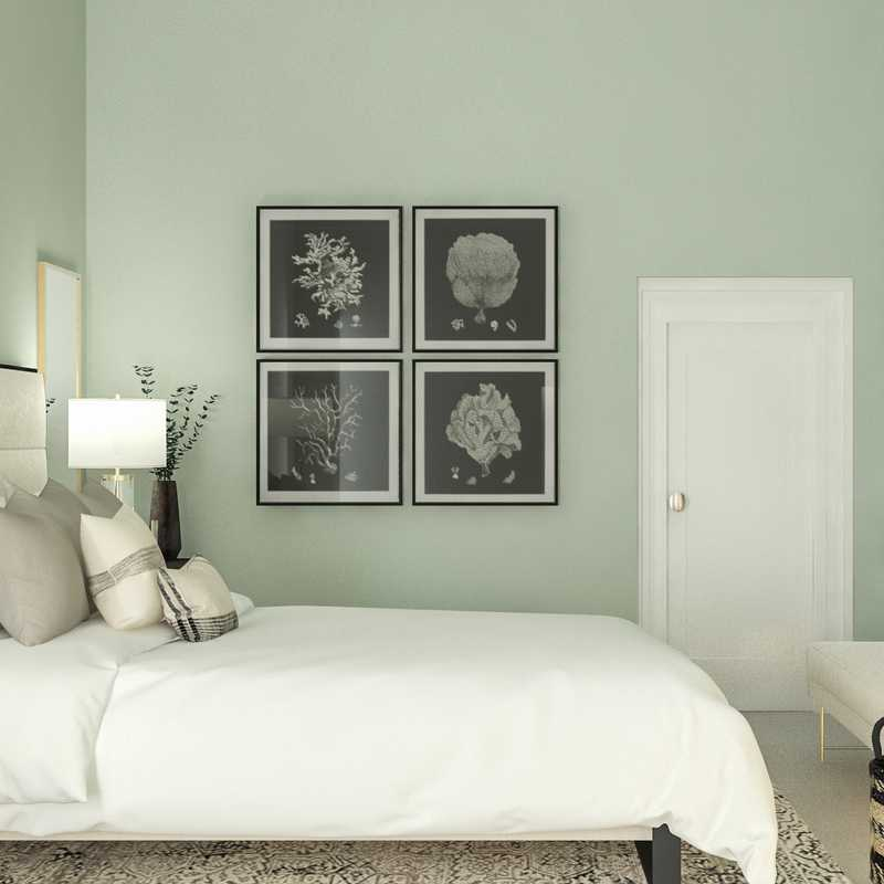 Classic, Traditional, Transitional Bedroom Design by Havenly Interior Designer Emilee