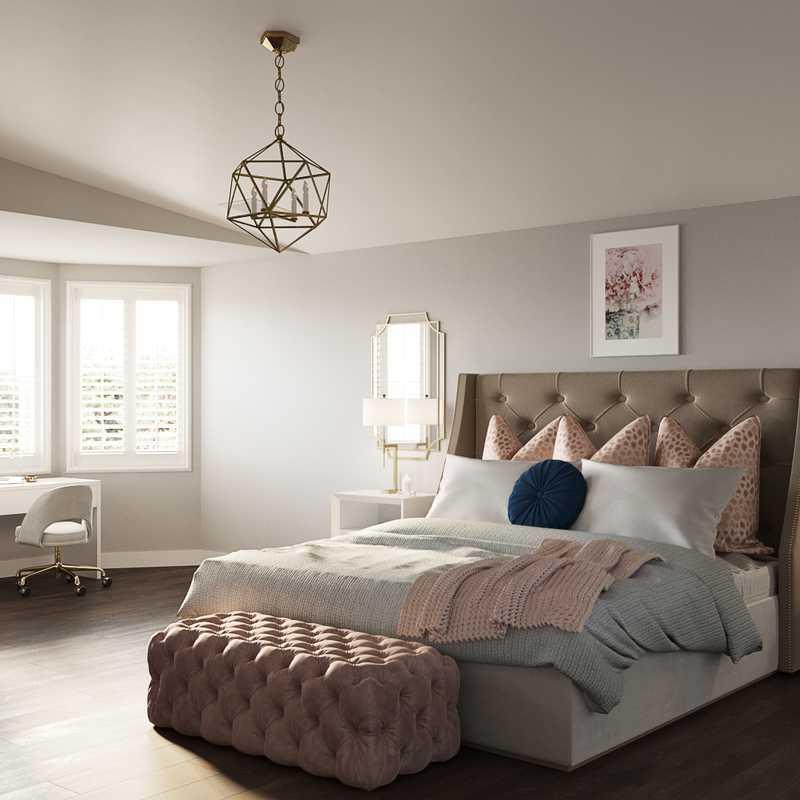 Glam Bedroom Design by Havenly Interior Designer Taylor