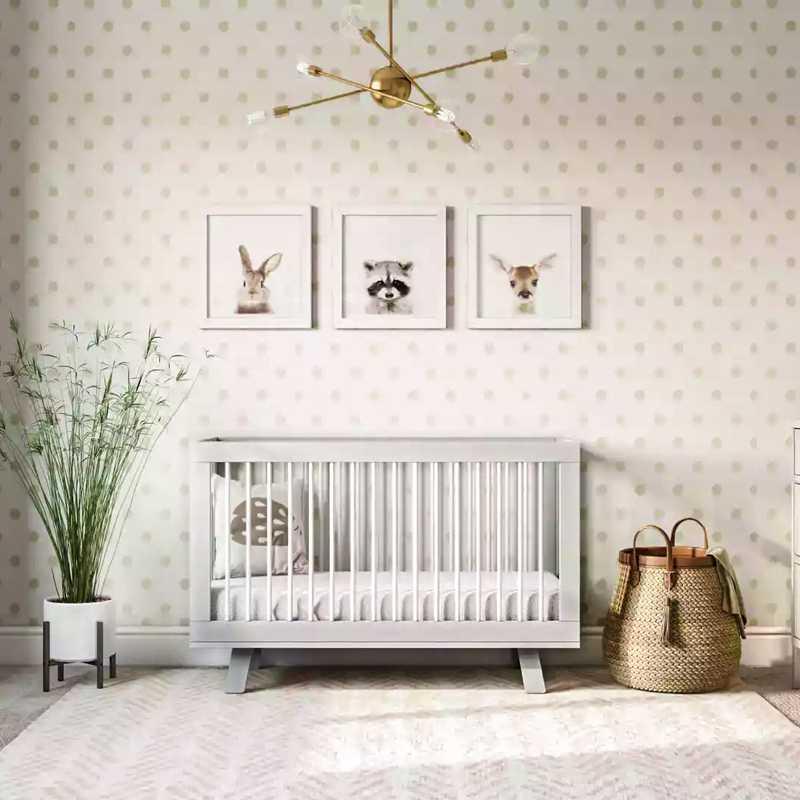 Modern Nursery Design by Havenly Interior Designer Mariel