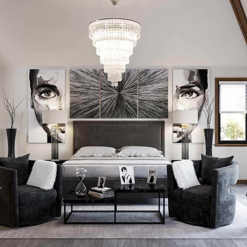 Modern Bedroom Design by Havenly Interior Designer Julio
