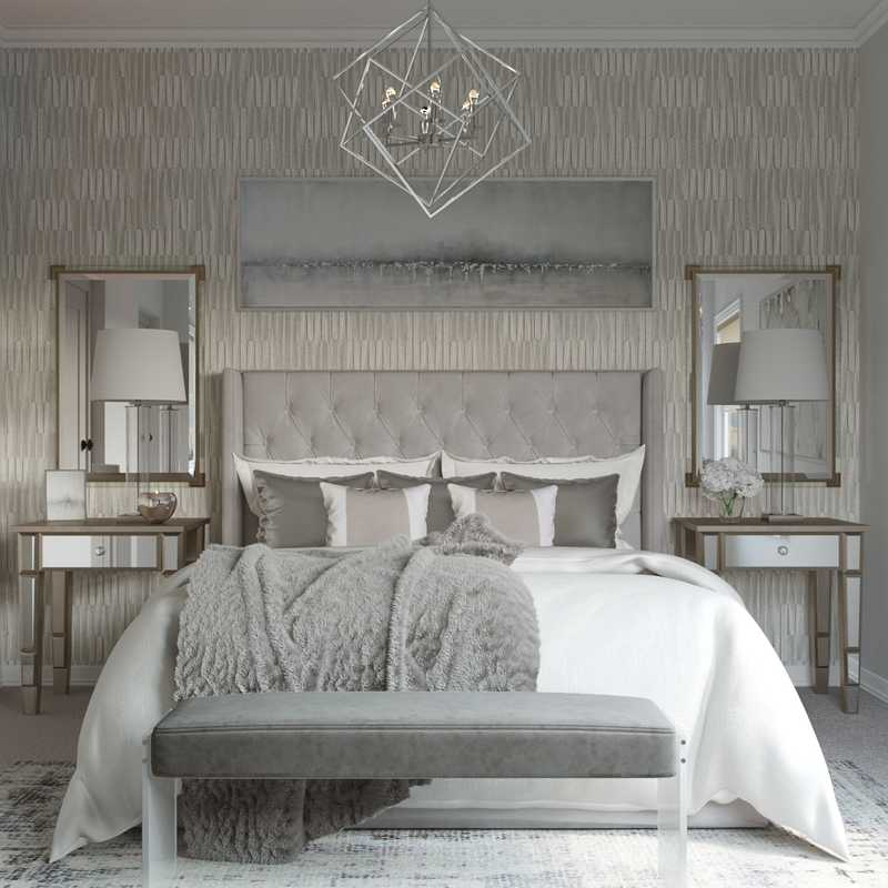 Contemporary, Modern Bedroom Design by Havenly Interior Designer Karen