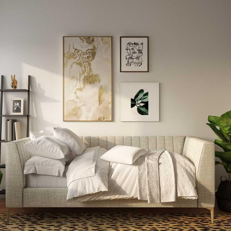 Contemporary, Modern, Midcentury Modern Office Design by Havenly Interior Designer Danielle