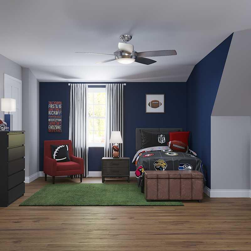 Contemporary, Modern Bedroom Design by Havenly Interior Designer Jonica