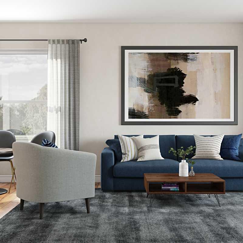 Living Room Design by Havenly Interior Designer Crystal