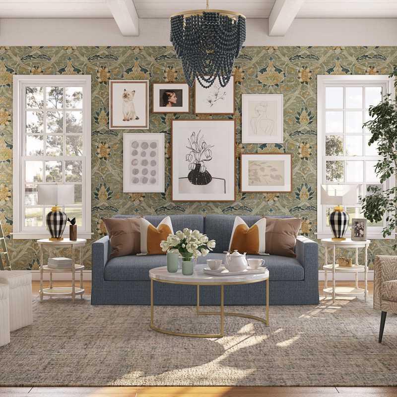 Eclectic, Bohemian, Farmhouse Design by Havenly Interior Designer Vivian