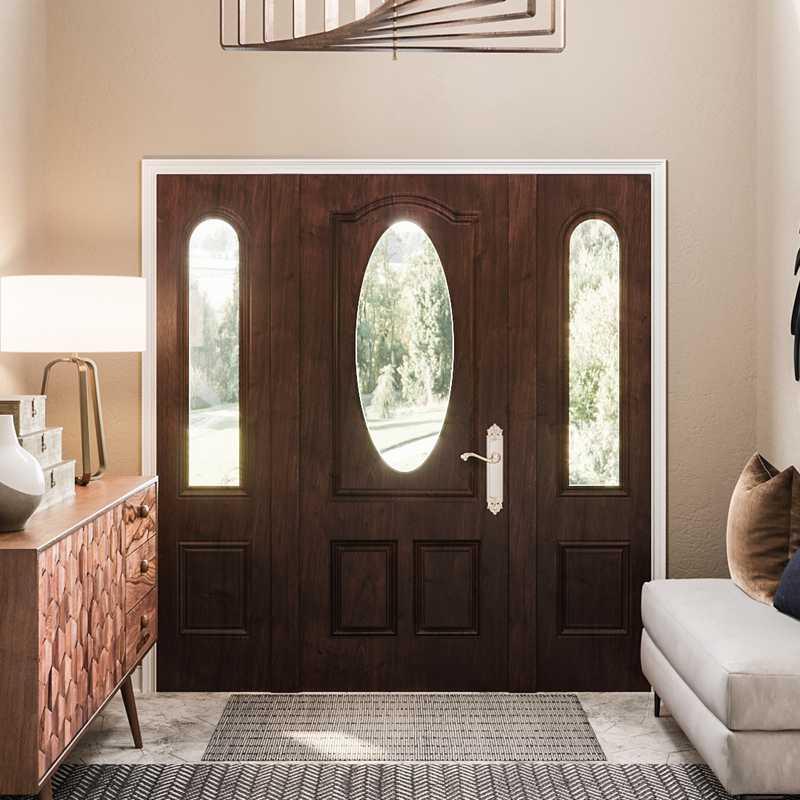Modern, Bohemian, Transitional, Midcentury Modern Other Design by Havenly Interior Designer Julie