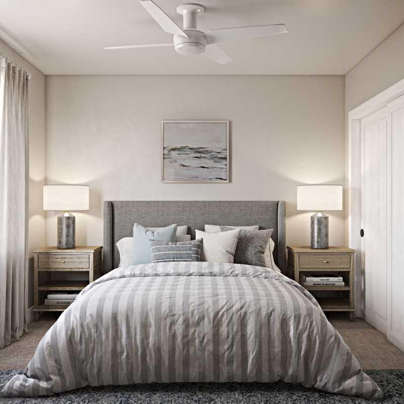 Classic, Coastal, Traditional Bedroom Design by Havenly Interior Designer Claire