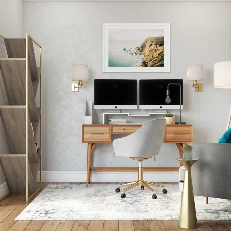 Office Design by Havenly Interior Designer Regina