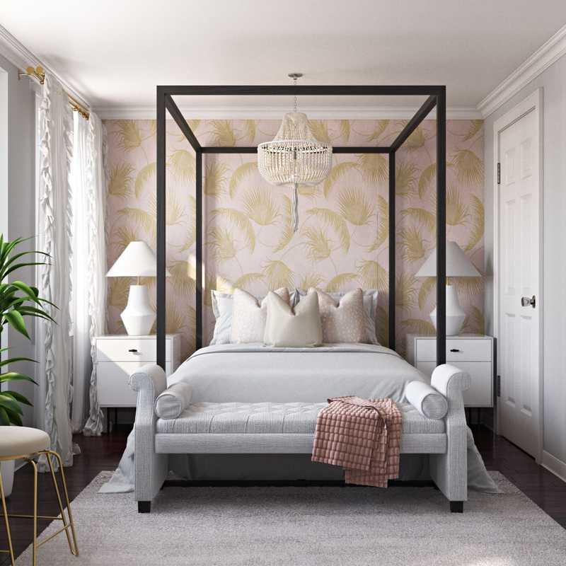 Glam Bedroom Design by Havenly Interior Designer Marisol