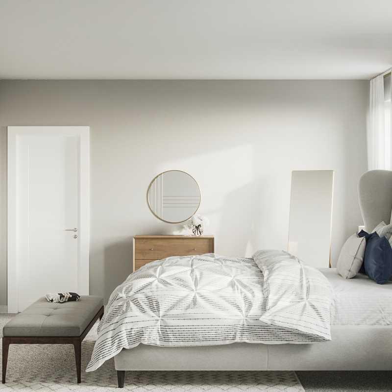 Midcentury Modern Bedroom Design by Havenly Interior Designer Julija