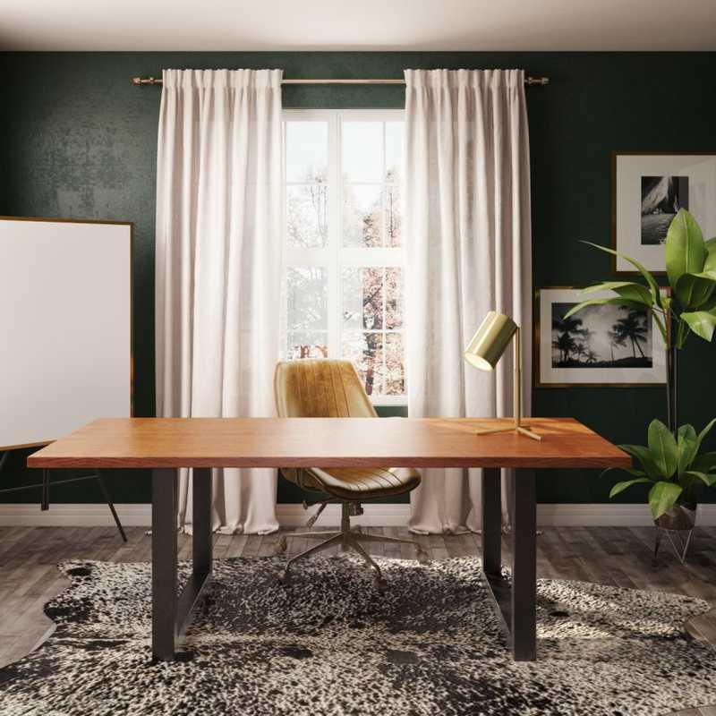 Office Design by Havenly Interior Designer Michelle