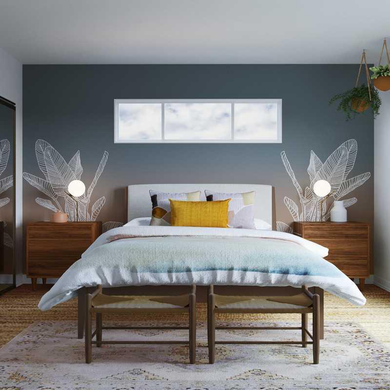 Bohemian Bedroom Design by Havenly Interior Designer Roxy