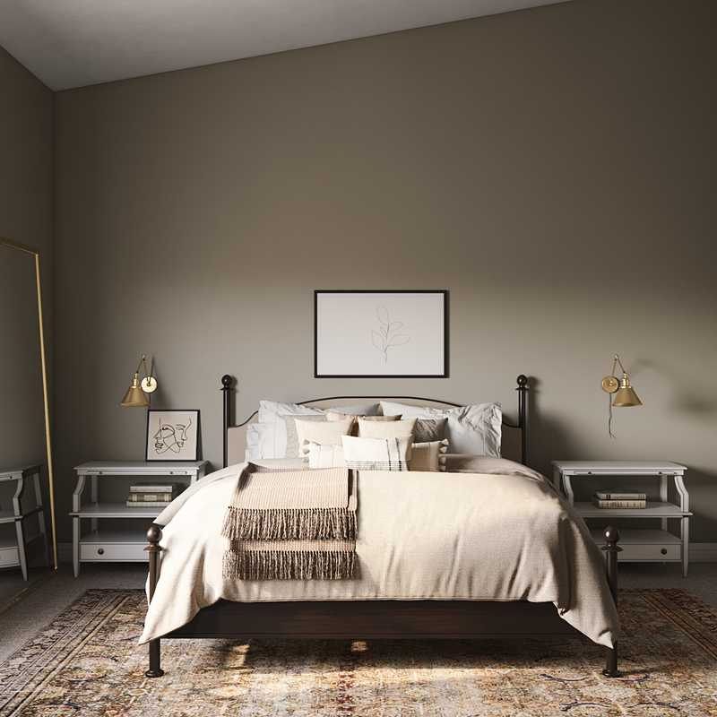 Classic, Farmhouse, Transitional Bedroom Design by Havenly Interior Designer Stacy