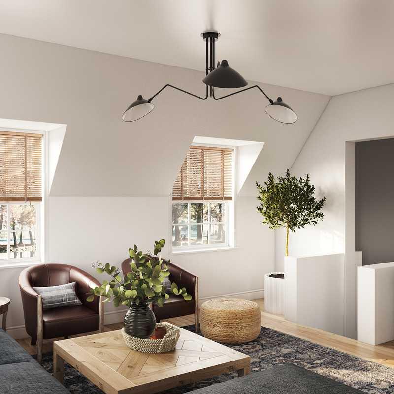 Classic Living Room Design by Havenly Interior Designer Kelsey