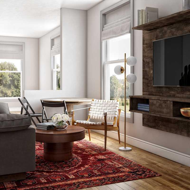 Bohemian, Midcentury Modern Other Design by Havenly Interior Designer Karen