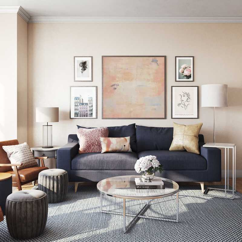 Living Room Design by Havenly Interior Designer Lisa