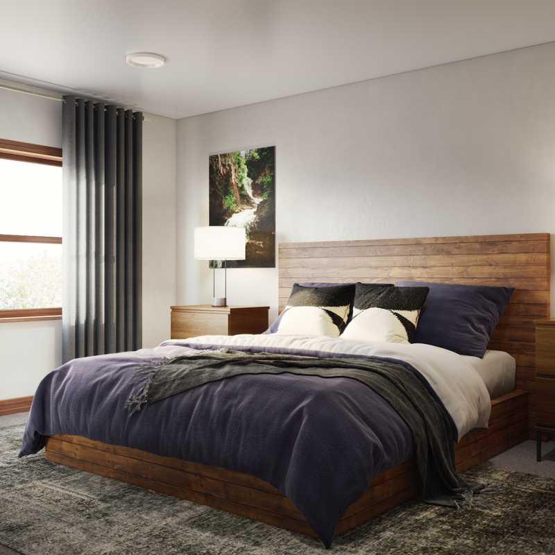 Modern, Midcentury Modern Bedroom Design by Havenly Interior Designer Kyla