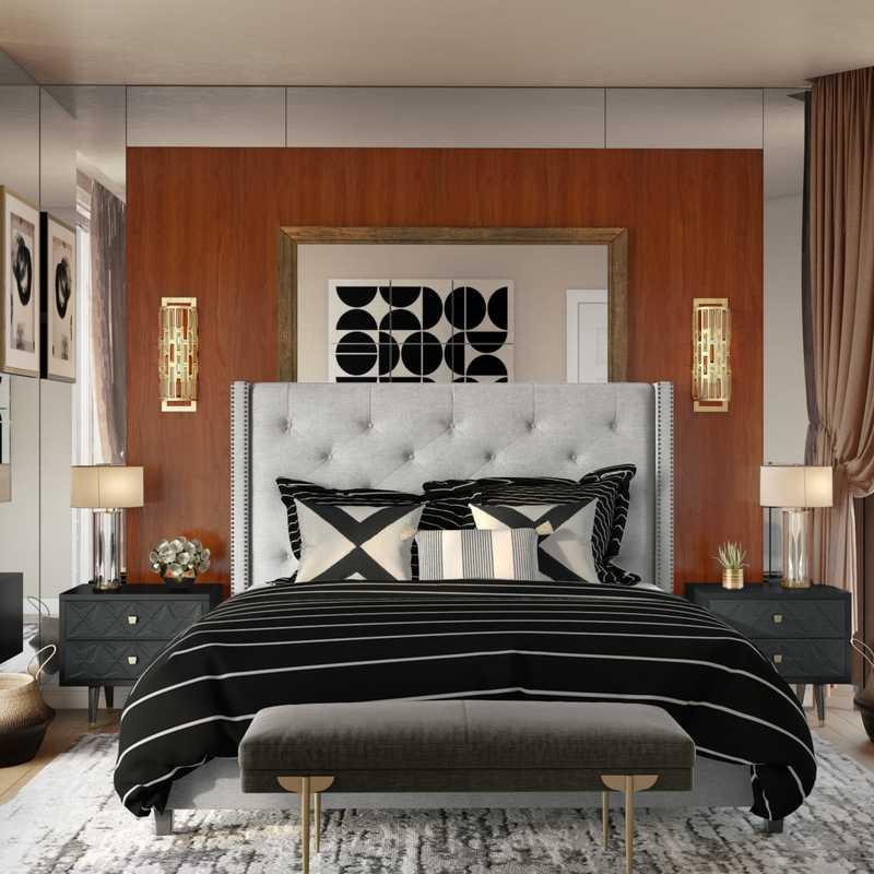 Modern, Glam Bedroom Design by Havenly Interior Designer Ashley