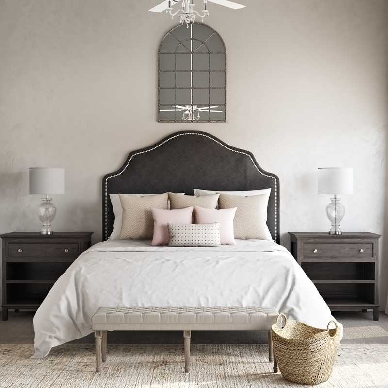 Glam, Traditional Bedroom Design by Havenly Interior Designer Chelsea