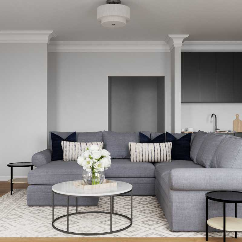 Classic Living Room Design by Havenly Interior Designer Brooke