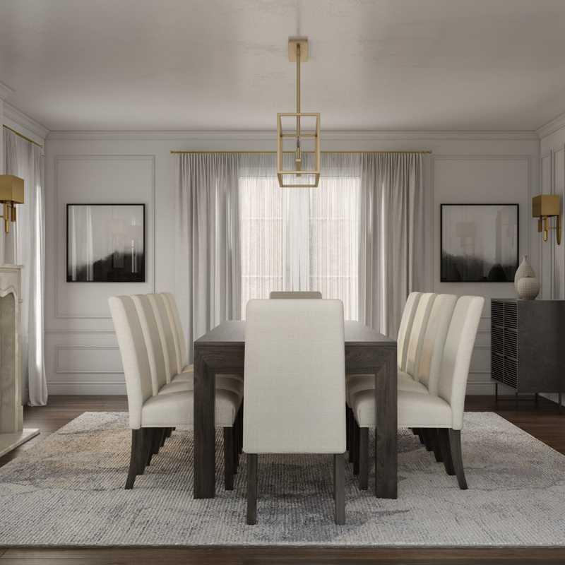Modern, Minimal Living Room Design by Havenly Interior Designer Taylor