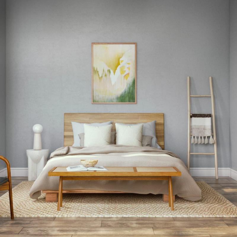 Scandinavian Bedroom Design by Havenly Interior Designer Rebecca
