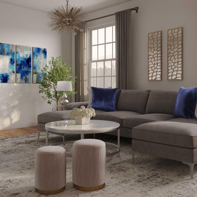 Living Room Design by Havenly Interior Designer Jenna