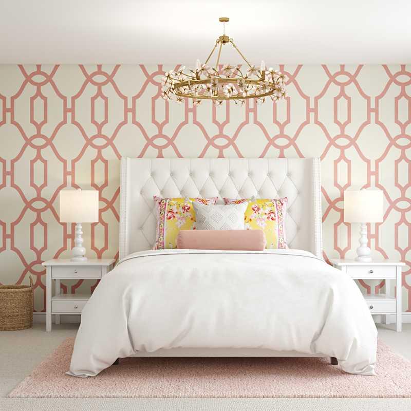 Preppy Bedroom Design by Havenly Interior Designer Barbara