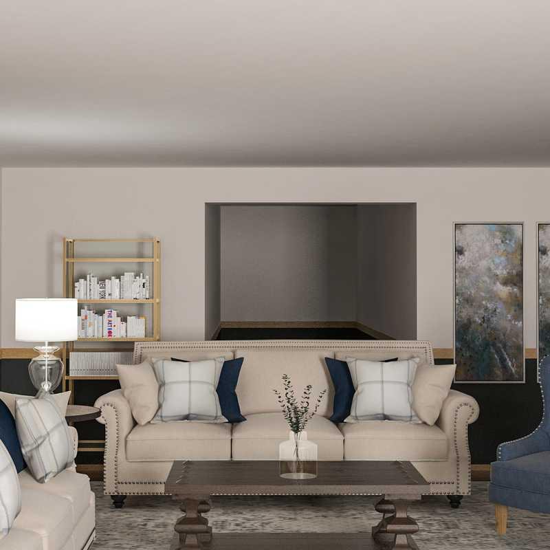 Living Room Design by Havenly Interior Designer Paige