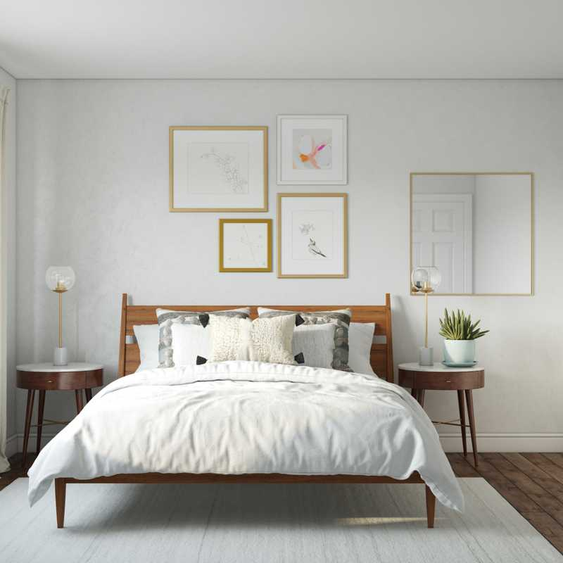 Bohemian, Classic Contemporary, Scandinavian Bedroom Design by Havenly Interior Designer Logan