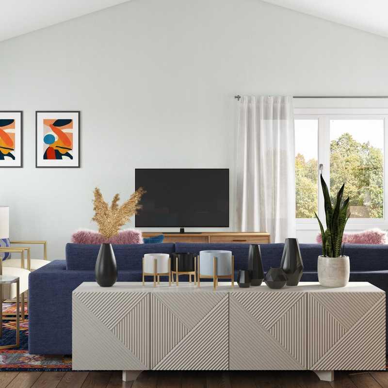 Bohemian, Midcentury Modern Other Design by Havenly Interior Designer Cherise