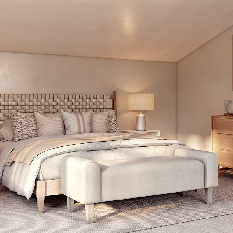 Minimal, Scandinavian Bedroom Design by Havenly Interior Designer Amairani
