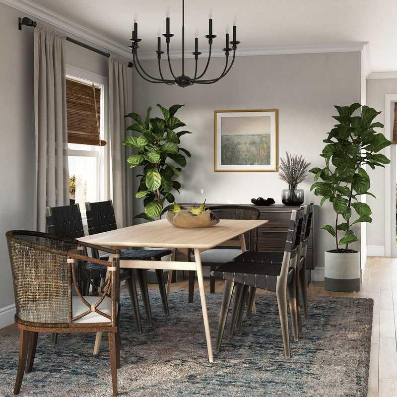 Bohemian, Midcentury Modern Other Design by Havenly Interior Designer Jessica