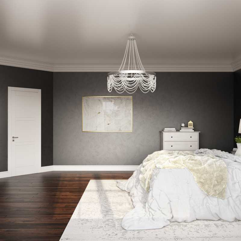 Classic, Glam, Farmhouse Bedroom Design by Havenly Interior Designer Carly
