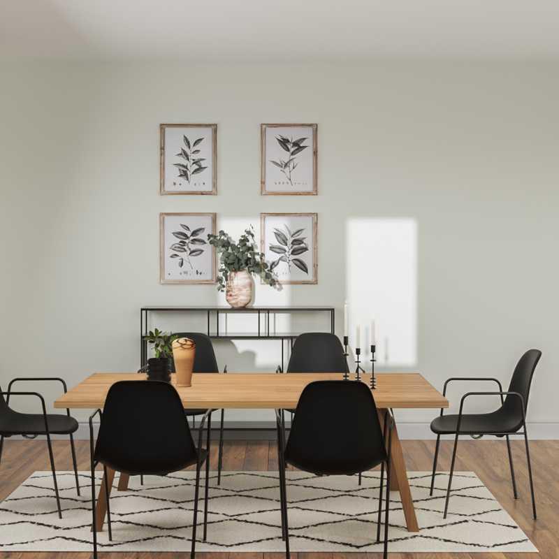 Scandinavian Dining Room Design by Havenly Interior Designer Allison