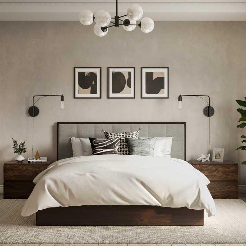 Modern, Scandinavian Bedroom Design by Havenly Interior Designer Sydney
