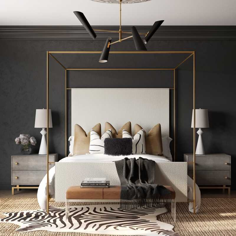 Contemporary, Modern, Glam  Design by Havenly Interior Designer