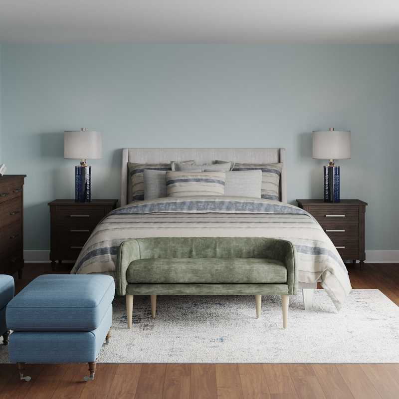 Classic, Traditional, Transitional Bedroom Design by Havenly Interior Designer Carolyn