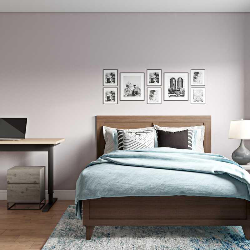 Modern, Transitional Bedroom Design by Havenly Interior Designer Abigail
