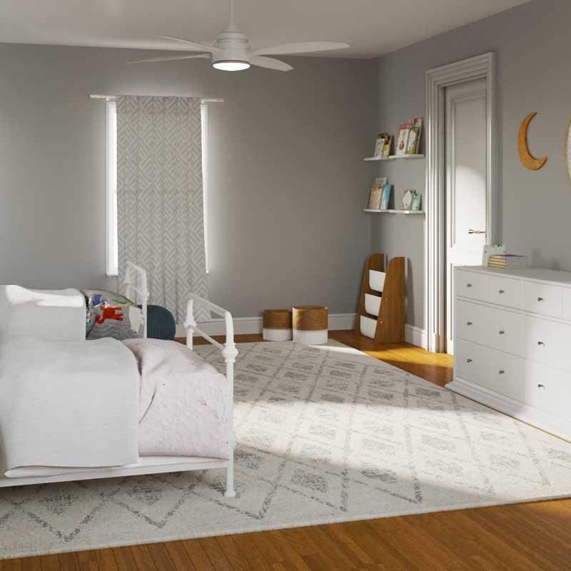 Modern, Farmhouse, Minimal Bedroom Design by Havenly Interior Designer Taylor