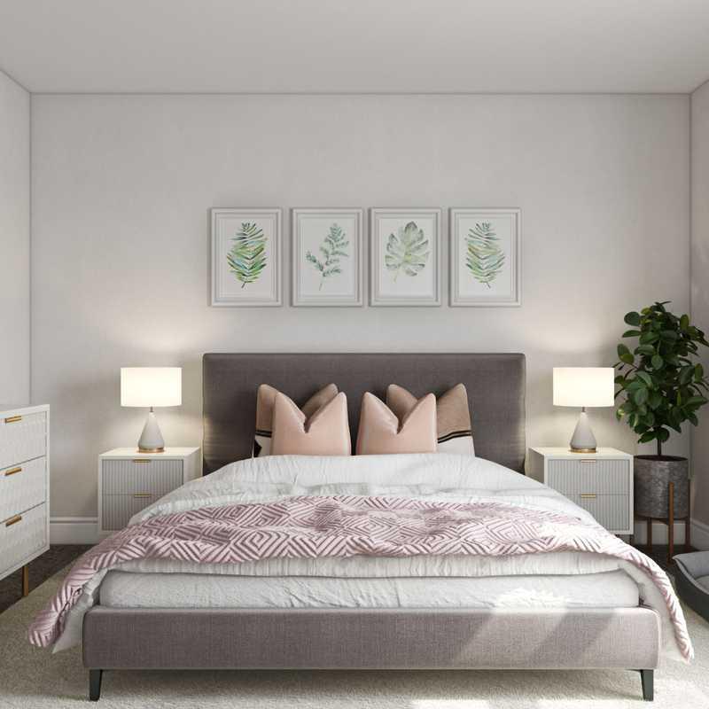 Modern, Glam Bedroom Design by Havenly Interior Designer Bianca